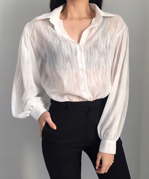 open snow blouse